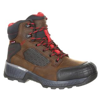 "Rocky 6"" Treadflex CT WP Dark Brown"