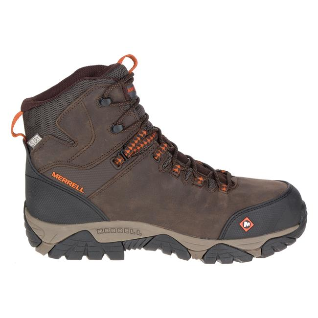 2e18515e Merrell Work Phaserbound Mid Composite Toe Waterproof