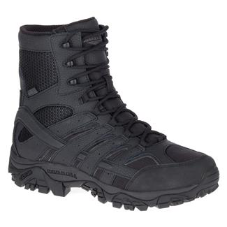"Merrell 8"" Moab 2 Tactical SZ WP Black"