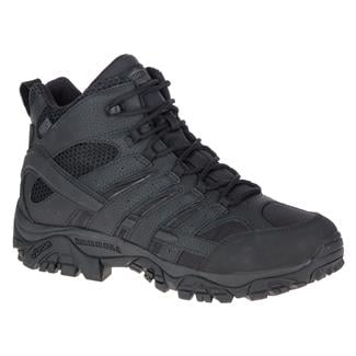 Merrell Tactical Moab 2 Mid Tactical WP Black