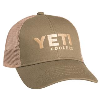 Yeti Traditional Trucker Hat Olive Green