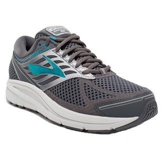 Brooks Addiction 13 Ebony / Silver / Pagoda Blue