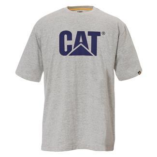 CAT TM Logo T-Shirt Heather Gray