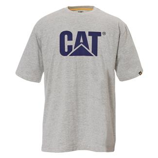 CAT TM Logo T-Shirt Heather Gray
