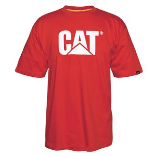 CAT TM Logo T-Shirt Red Tide