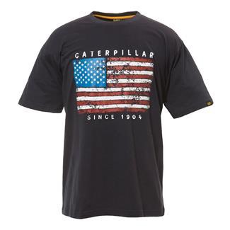 CAT Americana T-Shirt Navy