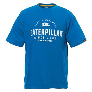 CAT Handcrafted T-Shirt Sapphire