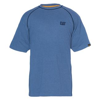 CAT Performance T-Shirt Cool Blue