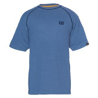 CAT Performance T-Shirt Cool Blue