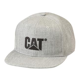 CAT Sheridan Flat Bill Cap Heather Gray