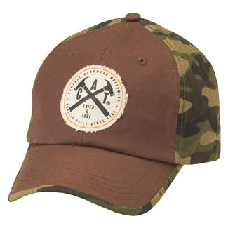CAT Havre Cap Woodland Camo