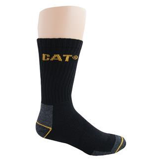 CAT All Season Work Socks Black