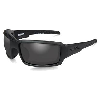 Wiley X Titan Matte Black (frame) - Smoke Gray (lens)
