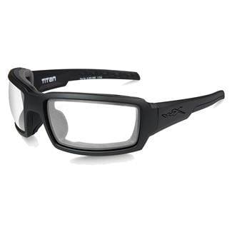 Wiley X Titan Matte Black (frame) - Clear (lens)