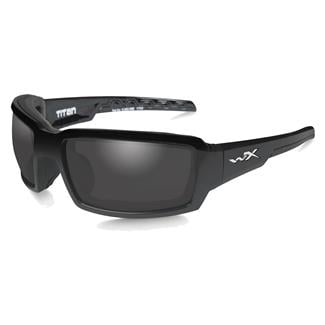 Wiley X Titan Gloss Black (frame) - Polarized Gray (lens)