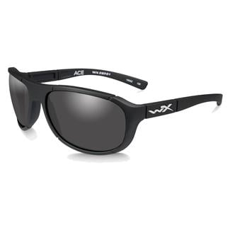 Wiley X Ace Matte Black (frame) - Smoke Gray (lens)