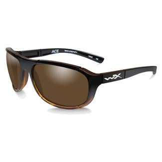 Wiley X Ace Gloss Tortoise Fade (frame) - Polarized Bronze (lens)