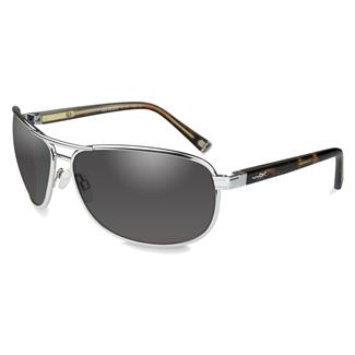 Wiley X Klein Silver (frame) - Smoke Gray (lens)