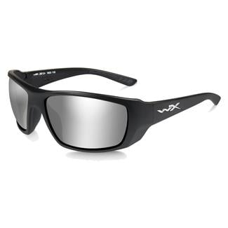 Wiley X Kobe Matte Black (frame) - Gray Silver Flash (lens)