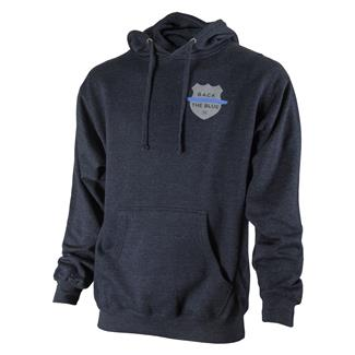 TG Thin Blue Line Hoodie Classic Navy Heather