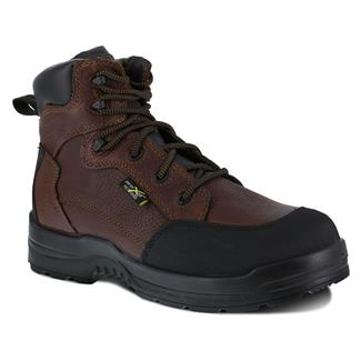 "Rockport Works 6"" More Energy CT Met Guard Brown"