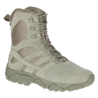 "Merrell 8"" Moab 2 Tactical Defense WP Sage Green"