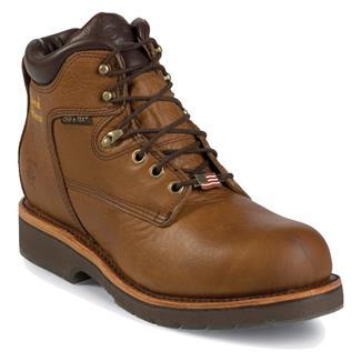 "Chippewa Boots 6"" McKelvie ST WP EH Tan"
