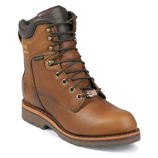 "Chippewa Boots 8"" McKelvie ST WP EH Tan"