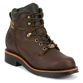 "Chippewa Boots 6"" Grenn WP Rich Oiled Walnut"