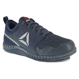 Reebok ZPrint Work Athletic Oxford ST Ash Gray / Washed Blue