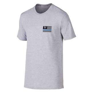 Oakley Thin Blue Line T-Shirt Athletic Heather Gray