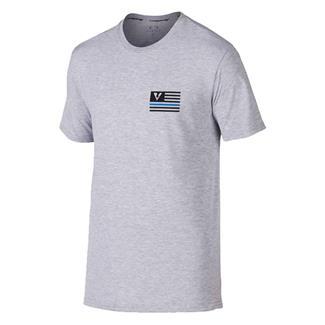 Oakley Thin Blue Line T-Shirt Athletic Heather Gray