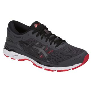 ASICS GEL-Kayano 24 Dark Gray / Black / Fiery Red