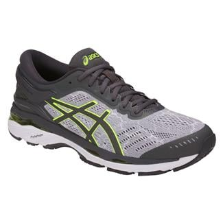 ASICS GEL-Kayano 24 Lite-Show Mid Gray / Dark Gray / Safety Yellow