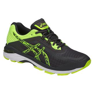 ASICS GT-2000 6 Lite-Show Dark Gray / Dark Gray / Safety Yellow