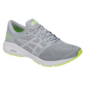 ASICS Roadhawk FF Mid Gray / White / Safety Yellow