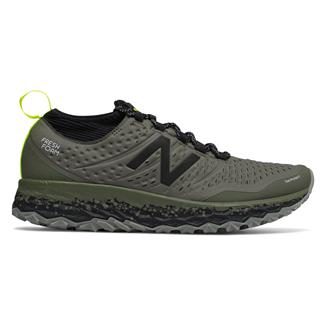 New Balance Fresh Foam Hierro v3 Military Foliage Green / Black