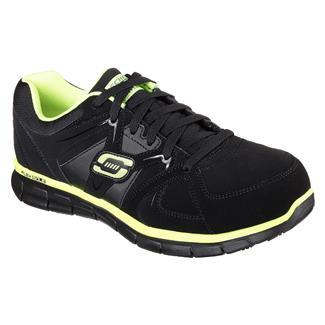 Skechers Work Synergy - Ekron AT Black / Lime