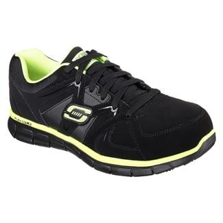 Skechers Work Synergy - Ekron AT Black / Lime