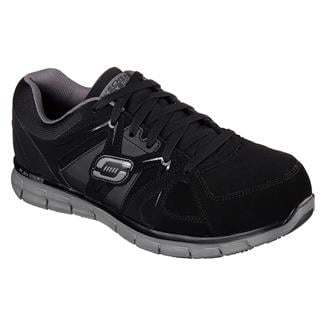 Skechers Work Synergy - Ekron AT Black / Charcoal