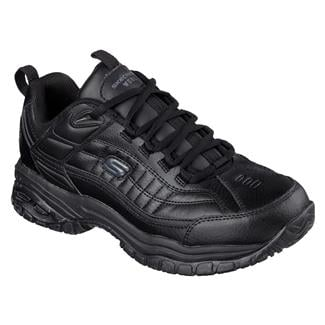 Skechers Work Soft Stride - Galley Black
