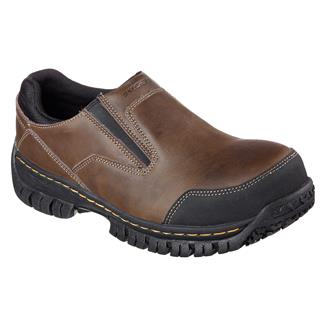 Skechers Work Hartan ST Dark Brown