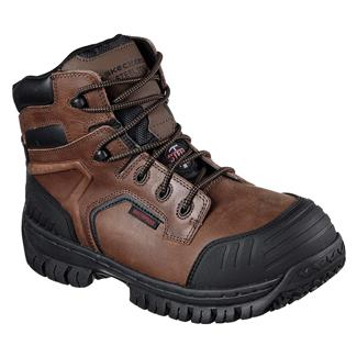 Skechers Work Onkin ST WP Dark Brown