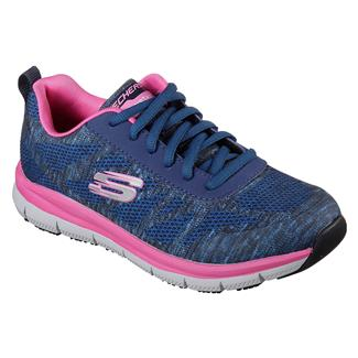 Skechers Work Comfort Flex Pro HC EH Navy / Pink