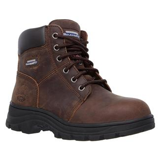 Skechers Work Workshire - Peril ST Brown