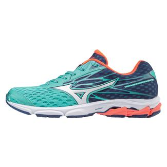 Mizuno Wave Catalyst 2 Turquoise / Fiery Coral