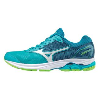 Mizuno Wave Rider 21 Peacock Blue / White