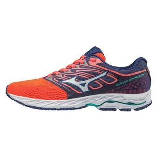 Mizuno Wave Shadow Fiery Coral / White