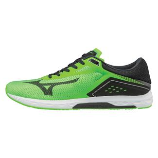 Mizuno Wave Sonic Bright Green / White