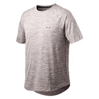 Oakley Tech Knit T-Shirt Heather Gray / Forged Iron